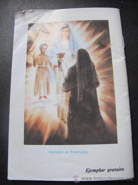 Libros de segunda mano: Libro folleto el mensaje de fátima - Foto 2 - 54211232