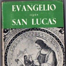 Libros de segunda mano: VALENSIN / HUBY ; EVANGELIO SEGÚN SAN LUCAS (PAULINAS, 1963). Lote 54262670