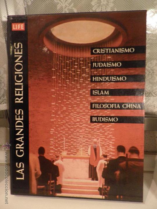 LAS GRANDES RELIGIONES. REVISTA LIFE. EDIT. LUIS MIRACLE. 2ª EDICION. 1963 (Libros de Segunda Mano - Religión)