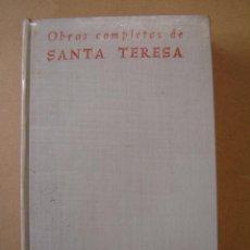 Libros de segunda mano: OBRAS COMPLETAS - SANTA TERESA DE JESÚS . Lote 54391989