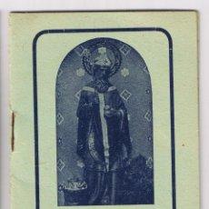Libros de segunda mano: CAMINATA DE TRES LUNES SAN NICOLAS DE BARI - 1947. Lote 54486323