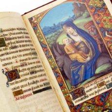 Libros de segunda mano: EXCEPCIONAL FACSÍMIL DEL OFICIO DE LA VIRGEN (S. XVI). Lote 54510845