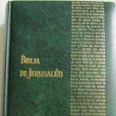 Libros de segunda mano: BIBLIA DE JERUSALEM. DESCLÉE DE BROUWER. Lote 54595629