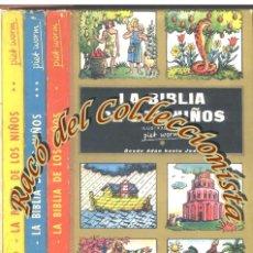 Libros de segunda mano: LA BIBLIA DE LOS NIÑOS, PIET WORM, 3 TOMOS, PLAZA JANES, 1962. Lote 54678275