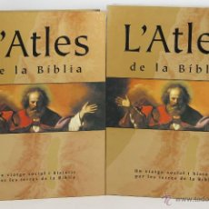 Libros de segunda mano: LC-032. L'ATLES DE LA BIBLIA. VARIOS AUTORES. EDIT. ENCICLOPEDIA CATALANA. 2007.. Lote 53802274