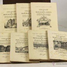 Libros de segunda mano: 7136 - COL-LECCIÓ DE MANUSCRITS INÈDITS,DEL 1 AL 7(VER DESCRIP). J. GUITERT. EDI CATALONIA. 1947-49.. Lote 53120443