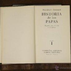 Libros de segunda mano: 2705 - HISTORIA DE LOS PAPAS,3 TOMOS. VV. AA.(VER DESCRIP). EDI. FABRIL. 1961/62.. Lote 52154577