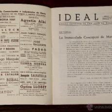 Libros de segunda mano: 6772 - IDEAL, COLECCIÓN DE 14 EJEMPLARES. ( VER DESCRIP). VV. AA. GRAF. MARINA.1948-1954.. Lote 50181263