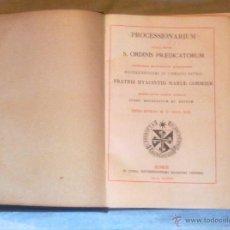 Libros de segunda mano: PROCESSIONARIUM.. Lote 54808832