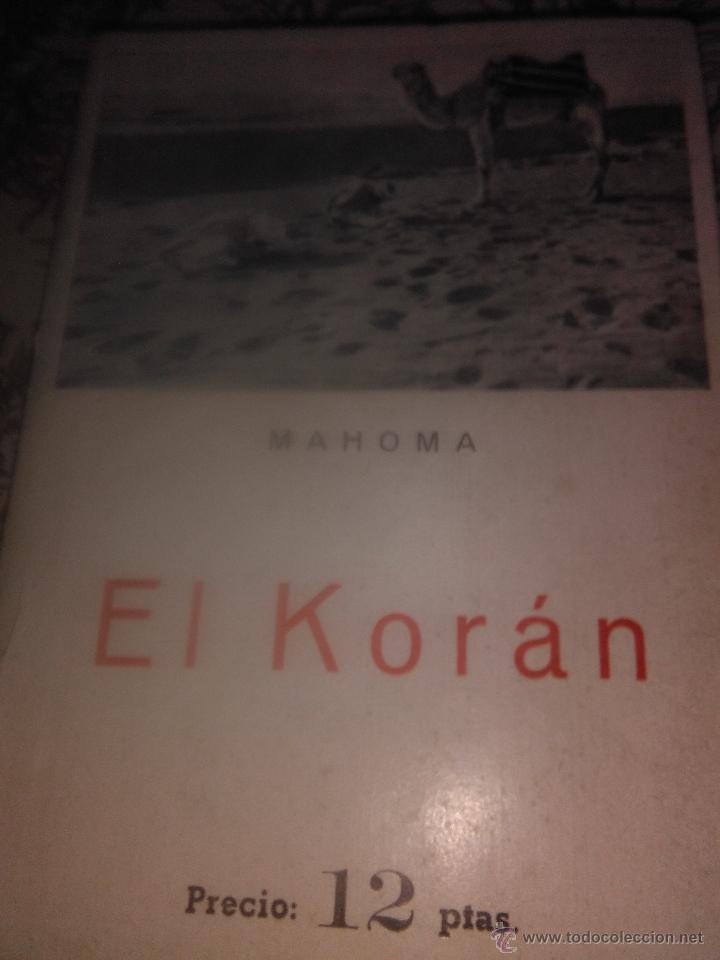 EL KORÁN (Libros de Segunda Mano - Religión)