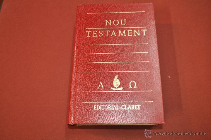 NOU TESTAMENT EDITORIAL CLARET - RE1 (Libros de Segunda Mano - Religión)