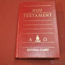 Libros de segunda mano: NOU TESTAMENT EDITORIAL CLARET - RE1. Lote 55056782