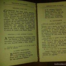 Libros de segunda mano: LIBROS RELIGION - DEVOCIONARIO DE LA NIÑEZ EDLVIVES 1940 8,5X13 CM 126 PAG . Lote 55165557