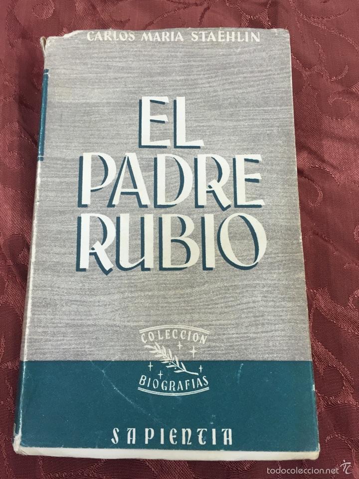 EL PADRE RUBIO. 1953 (Libros de Segunda Mano - Religión)