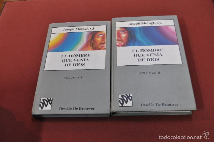 2 libros el hombre que venía de dios - joseph m - Vendido en Venta Directa  - 55699835