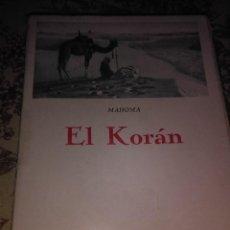 Libros de segunda mano: EL KORÁN. Lote 55868174