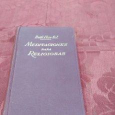 Libros de segunda mano: MEDITACIONES PARA RELIGIOSAS. Lote 56018986