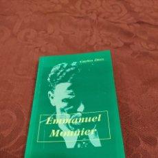Libros de segunda mano: EMMANUEL MOUNIER. CARLOS DÍAZ.. Lote 56037008