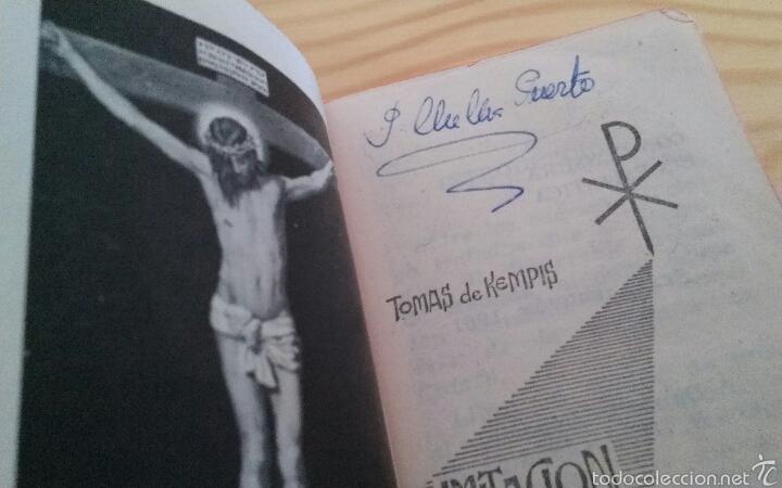 """LIBRO """"IMITACIÓN DE CRISTO"""", DE TOMÁS DE KEMPIS (Libros de Segunda Mano - Religión)"""