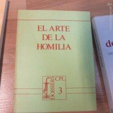 Libros de segunda mano: EL ARTE DE LA HOMILIA -84PG-1990. Lote 56181883