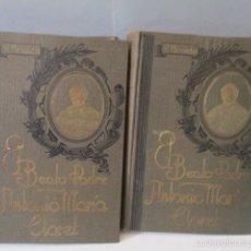 Libros de segunda mano: EL BEATO PADRE ANTONIO MARÍA CLARET 2 VOL– AÑO 1941 (VER FOTOS). Lote 56264478