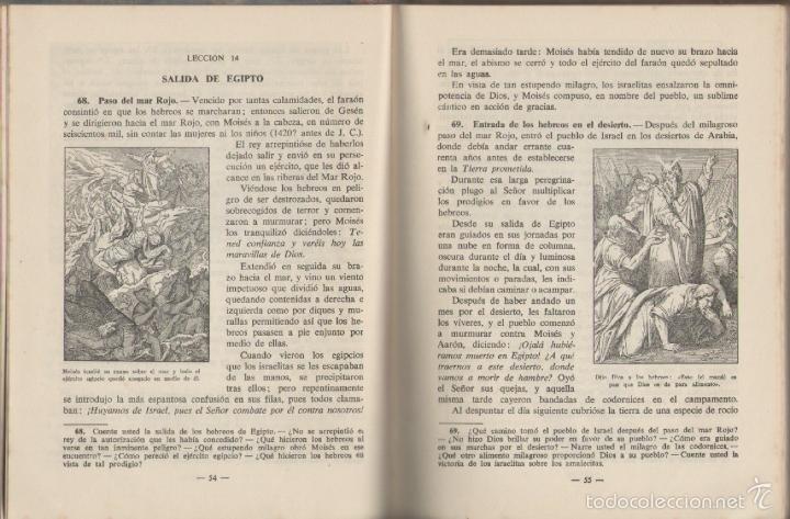 Libros de segunda mano: HISTORIA SAGRADA *** SEGUNDO GRADO *** EDITORIAL LUIS VIVES 1951 - Foto 3 - 56502153