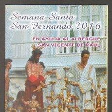 Libros de segunda mano: ITINERARIO SEMANA SANTA SAN FERNANDO 2016. A-SESANTA-1360. Lote 56507725