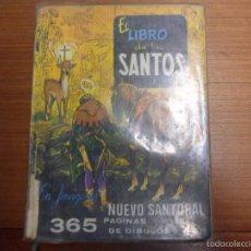 Libros de segunda mano: EL LIBRO DE LOS SANTOS. NUEVO SANTORAL. 365 PÁGINAS DE DIBUJO. J.M. GIRABAL. EDIC. DON BOSCO. Lote 56527768