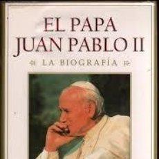 Libros de segunda mano: EL PAPA JUAN PABLO II. SZULC, TAD. Lote 56637896