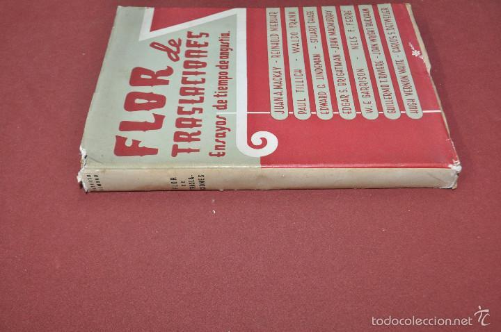 Libros de segunda mano: flor de traslaciones ensayos de tiempo de angustia - alberto rembao - RE37 - Foto 2 - 56742419