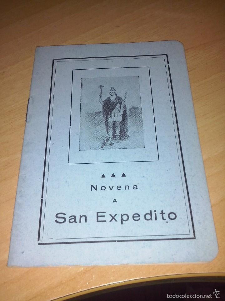 NOVENA A SAN EXPEDITO LIBRERIA CASA MARTIN VALLADOLID (Libros de Segunda Mano - Religión)