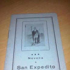 Libros de segunda mano: NOVENA A SAN EXPEDITO LIBRERIA CASA MARTIN VALLADOLID. Lote 108812087