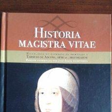 Libros de segunda mano: HISTORIA MAGISTRA VITAE.MISCELANEA DE ESTUDIOS HOMENAJE TARSICIO DE AZCONA.HERMANOS CAPUCHINOS 2011 . Lote 56835716