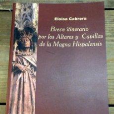 Libros de segunda mano: BREVE ITINERARIO POR LOS ALTARES Y CAPILLAS DE LA MAGNA HISPALENSIS - CABRERA. Lote 56943491