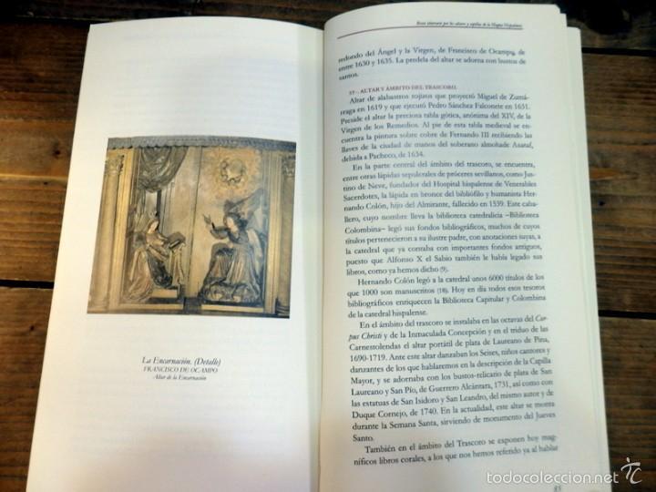 Libros de segunda mano: BREVE ITINERARIO POR LOS ALTARES Y CAPILLAS DE LA MAGNA HISPALENSIS - CABRERA - Foto 3 - 56943491