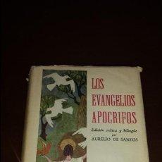 Libros de segunda mano: LOS EVANGELIOS APÓCRIFOS, AURELIO DE SANTOS OTERO, BAC, 1956 1ª EDICIÓN. Lote 56968976