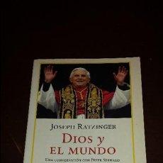 Libros de segunda mano: DIOS Y EL MUNDO, JOSEPH RATZINGER, DEBOLSILLO. Lote 56969003