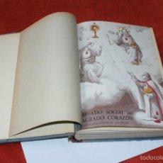Libros de segunda mano: LIBRO ENCUADERNADO DE REVISTAS REVISTA REINADO SOCIAL DEL SAGRADO CORAZON. Lote 57006870