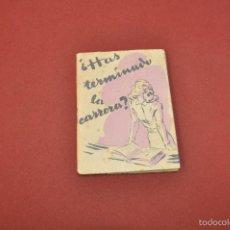 Libros de segunda mano: ¿ HAS TERMINADO LA CARRERA ? COLECCION - RE15. Lote 57338516