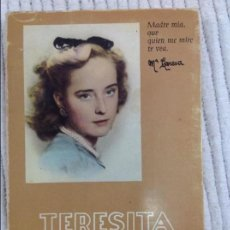 Libros de segunda mano: TERESITA GONZALEZ QUEVEDO -.E ITURBIDE.-. Lote 57395547