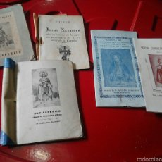 Libros de segunda mano: NOVENAS SAN EXPEDITO JESUS NAZARENO VIRGEN DEL PERPETUO SOCORRO NIÑO JESUS DE PRAGA. Lote 57490462