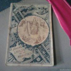 Libros de segunda mano: DEVOCIONES ESCOGIDAS NOVENA A NUESTRA SEÑORA DE LAS MERCEDES S.CALLEJA. Lote 57493587