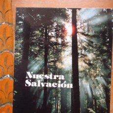 Libros de segunda mano: LIBRO RELIGION - NUESTRA SALVACION DEVOCIONARIO PRACTICO Y SINTESIS DE LA FE. Lote 57523598
