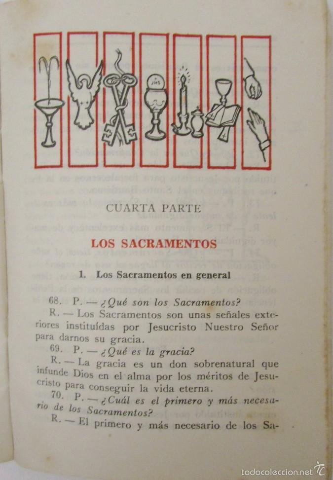 Catecismo de la doctrina cristiana primer grad comprar - Libreria segunda mano valencia ...