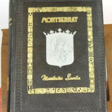 Libros de segunda mano: 7763 - MONTSERRAT MONTAÑA SANTA. JUAN BALDOMA ALÓS. EDIT. BORRÁS. 1945.. Lote 57968153