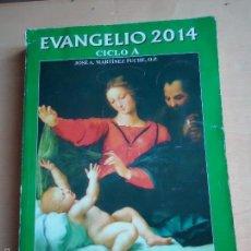 Libros de segunda mano: LIBRO EVANGELIO 2014. CICLO A, DE JOSÉ A. MATÍNEZ PUCHE, O.P.. Lote 58139213