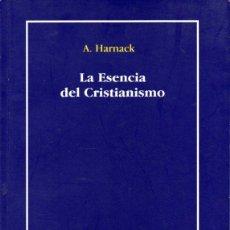 Libros de segunda mano: HARNACK : LA ESENCIA DEL CRISTIANISMO (SEFER, 2006). Lote 74073526