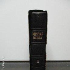 Libros de segunda mano: MISSAL ROMÁ I VESPERAL PER A ÚS DELS FIDELS - VOL. II - 1952. Lote 58232681