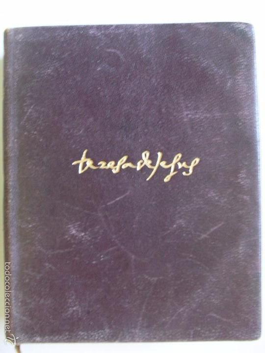 SANTA TERESA DE JESUS, OBRAS COMPLETAS/1948 (Libros de Segunda Mano - Religión)