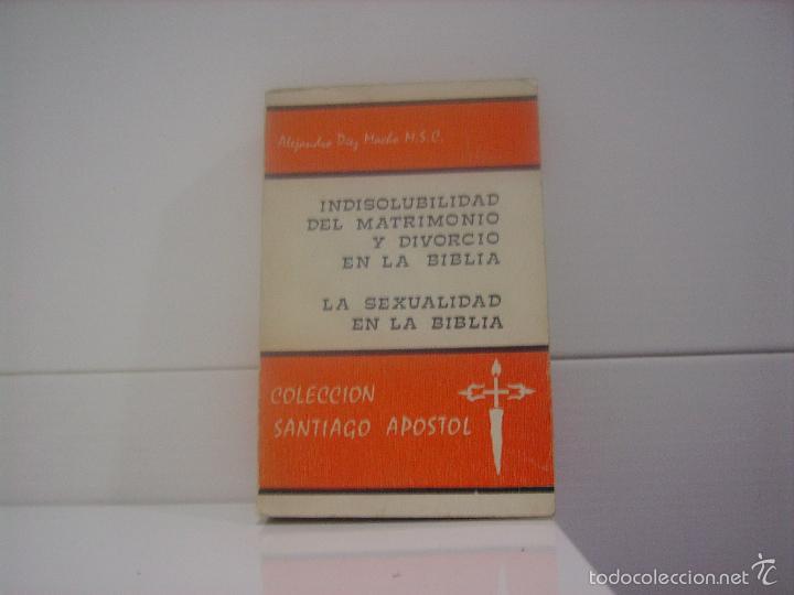 Matrimonio Religioso Biblia : Indisolubilidad del matrimonio y divorcio en la comprar libros
